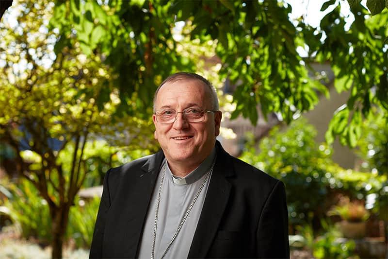 Mgr Le Saux, évêque de la Sarthe