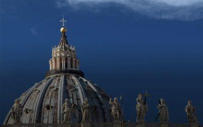 Pèlerinage à Rome d'une délégation de l'enseignement catholique