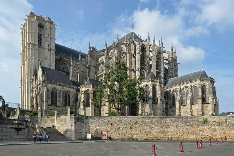 icône de saint Bertrand, chapelle saint-Liboire au Mans