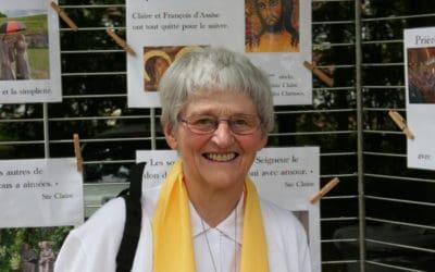 Soeur Bernadette, miraculée de Lourdes, au Mans