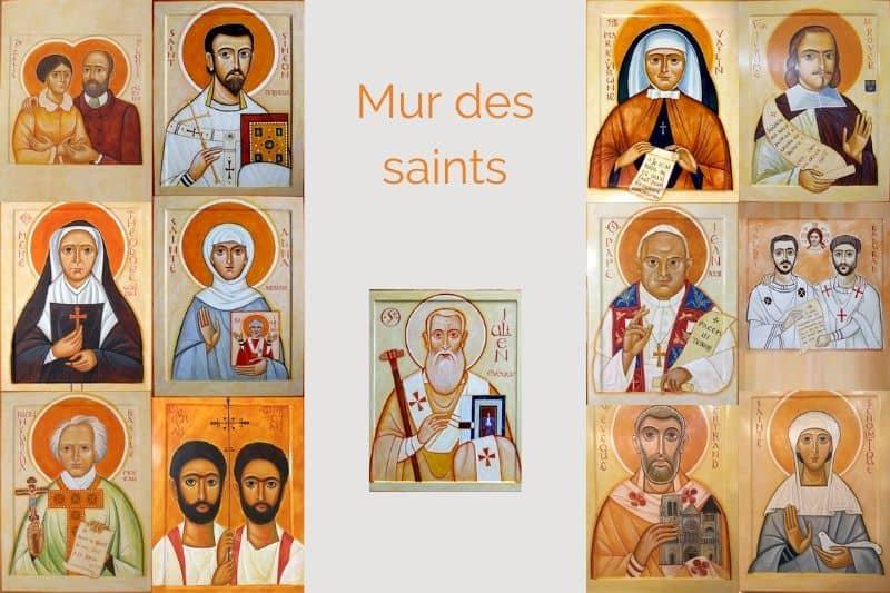 Mur des saints