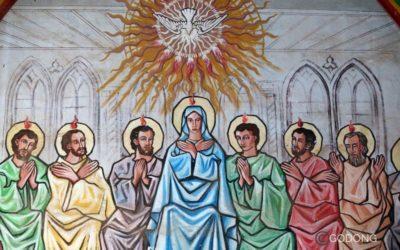 En marche vers Pentecôte !