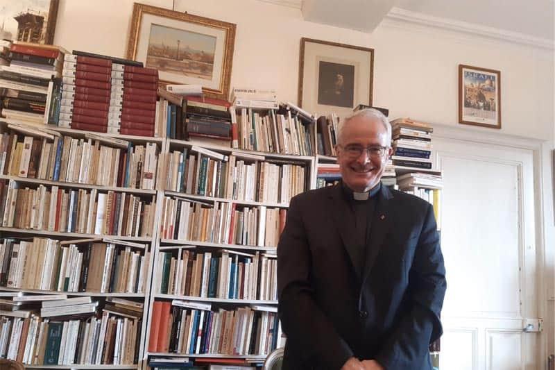 Père C. Le Sourt, directeur du service national des relations avec le judaïsme