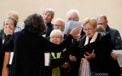 Stage d'orgue et de chants à Pontmain