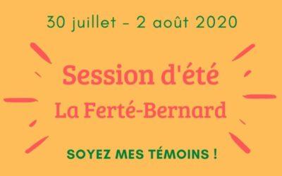 Session d'été de la Ferté Bernard