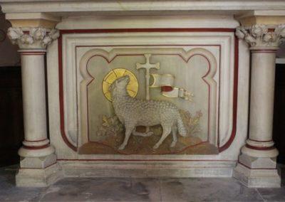 Autel de la chapelle du Sacré Coeur