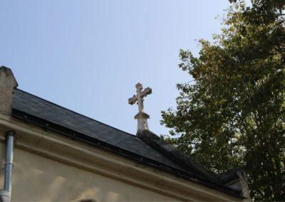 Croix de la chapelle du Sacré-Coeur