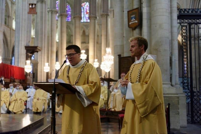 Gaël et Antoine appelés à devenir prêtres du diocèse