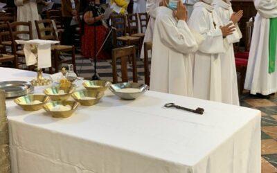 Messes d'installation des nouveaux curés